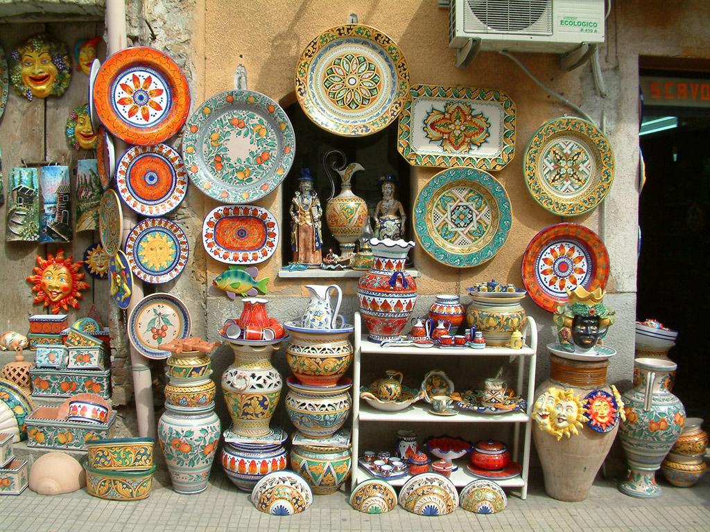Ceramiche parco delle madonie